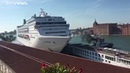 Watch Giant cruise ship hits tour boat and dock in Venice