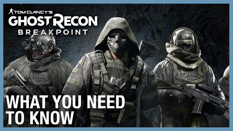 Ghost Recon Breakpoint 6 New Things You Need to Know Ubisoft NA