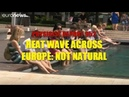 952: Heat wave across Europe: not natural