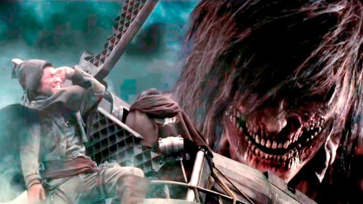 Атака титанов. Фильм второй: Конец света / Shingeki no kyojin: Attack on Titan - End of the World / 2015 / BDRip (1080p)