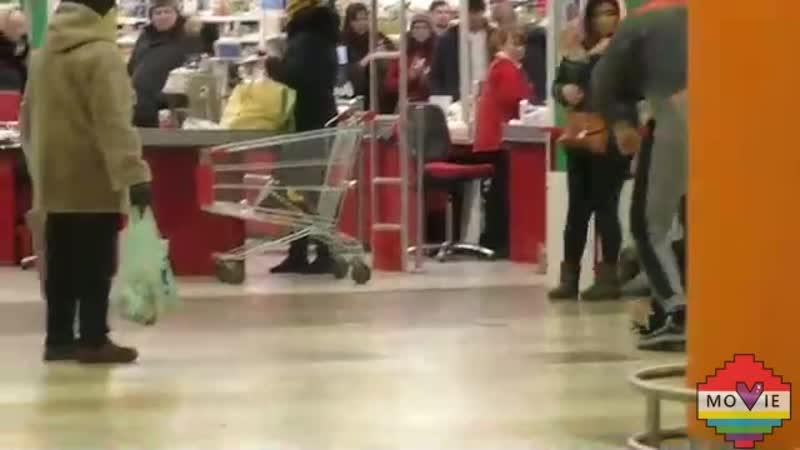 Пранк в супермаркете