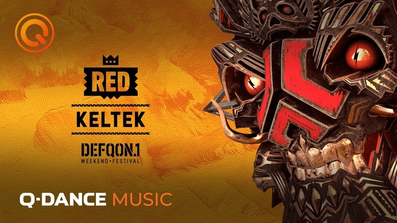 The Colors of Defqon.1 2019   RED Mix by KELTEK