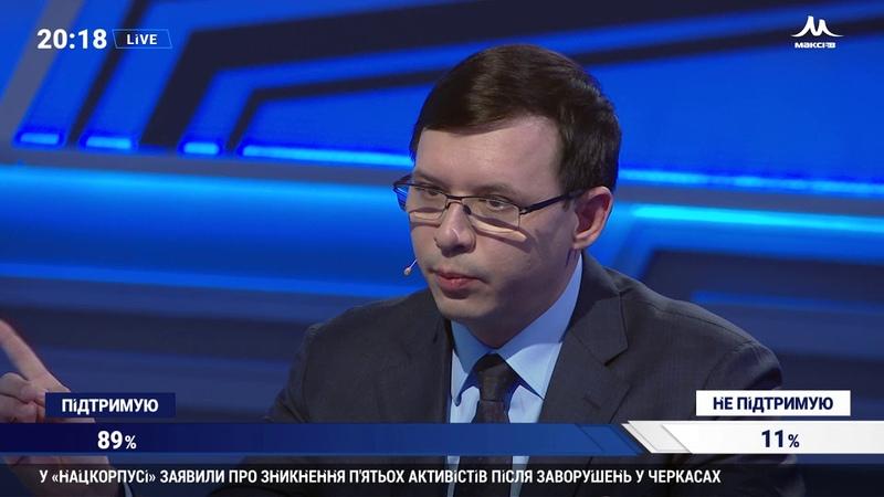 Мураєв План Порошенко залишитися на другий термін остаточно руйнується Події дня НАШ 11 03 19
