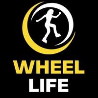 "Логотип Новгородская Роллер-школа ""Wheel Life"""