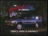 Chevrolet S-10 Blazer 4-dr Commercial