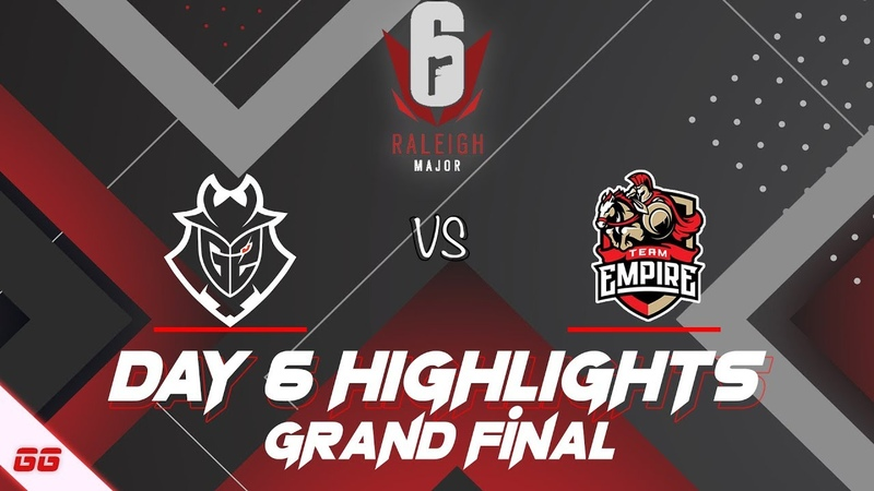G2 Esports vs Team Empire | Six Major Raleigh Highlights