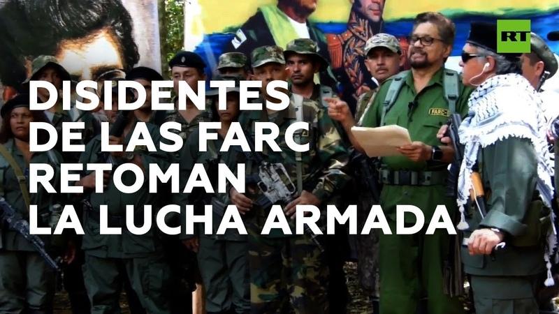 Iván Márquez anuncia la continuación de la lucha guerrillera