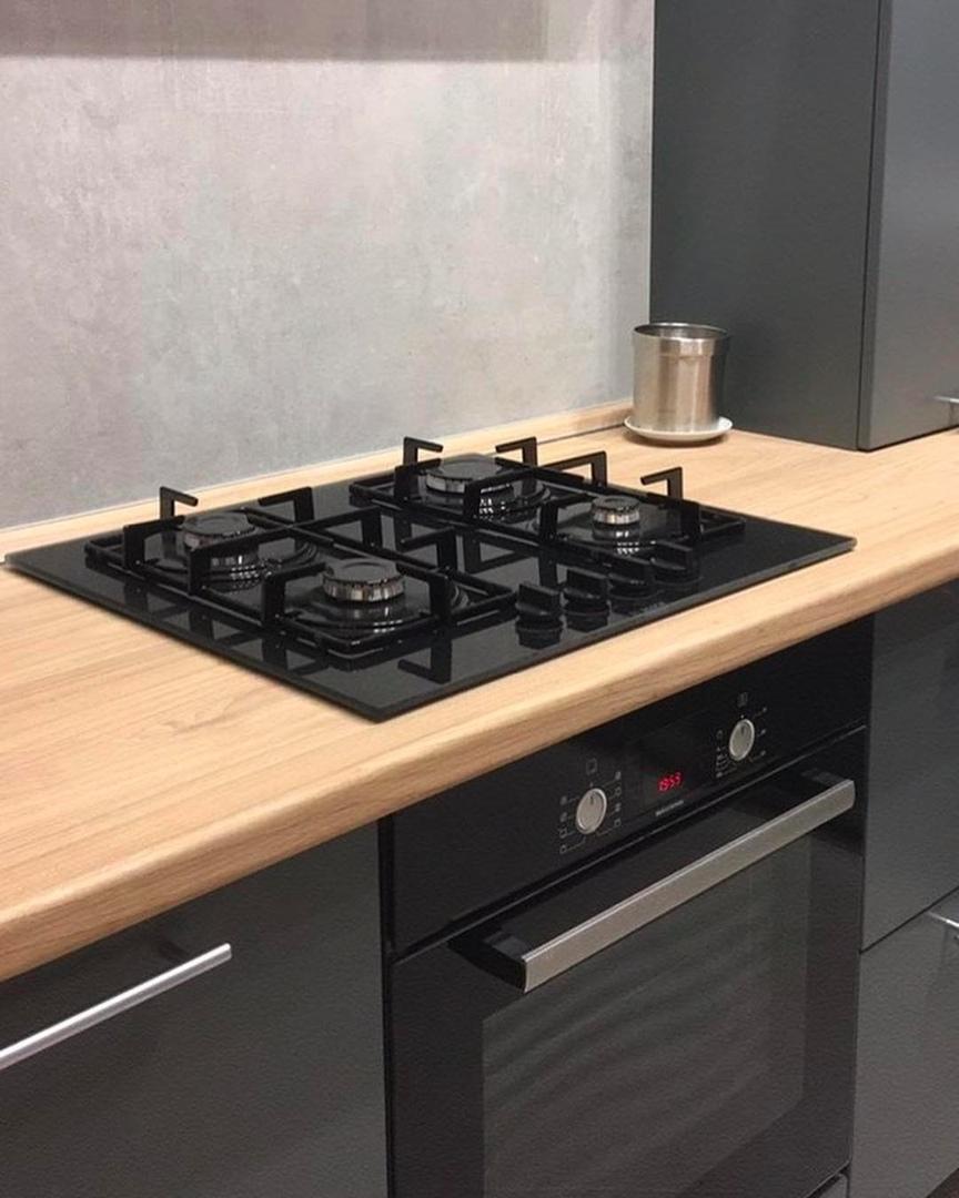 Наша кухня в новой квартире. Много ещё предстоит сделать, но главное сделано