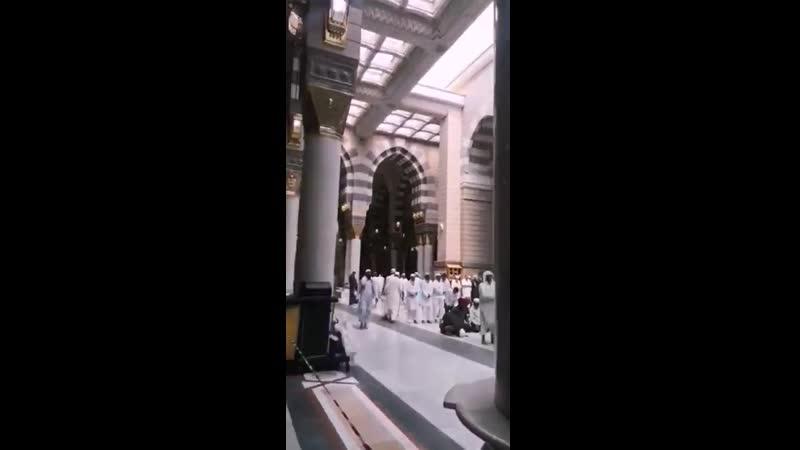 تجربة جميلة لتجربة مواقف المسجد النبوي الشريف