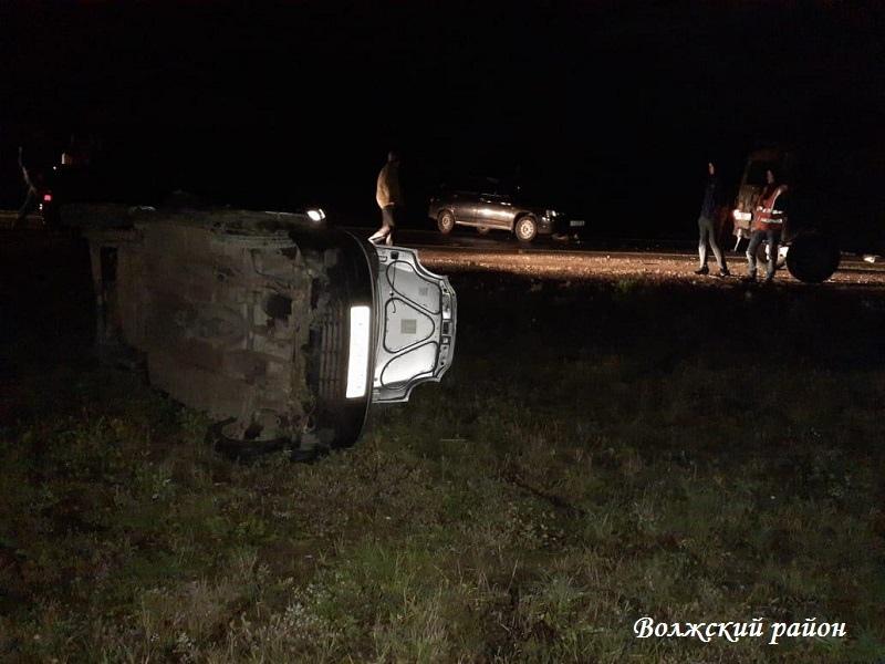 За минувшие сутки в Марий Эл произошли три ДТП с пострадавшими, в том числе в Волжске и Волжском районе