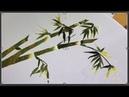 Bamboo Hand Embroidery ... Cách Thêu Thân Tre