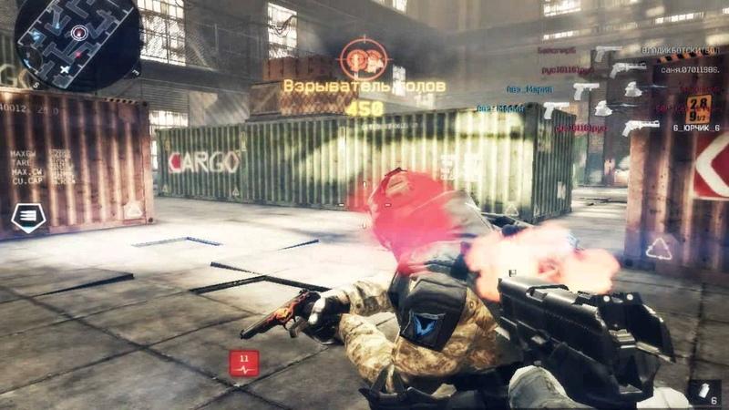 Warface Frag Move BOOM HEAD:COMBO MURDER: x9 HEADSHOT 2