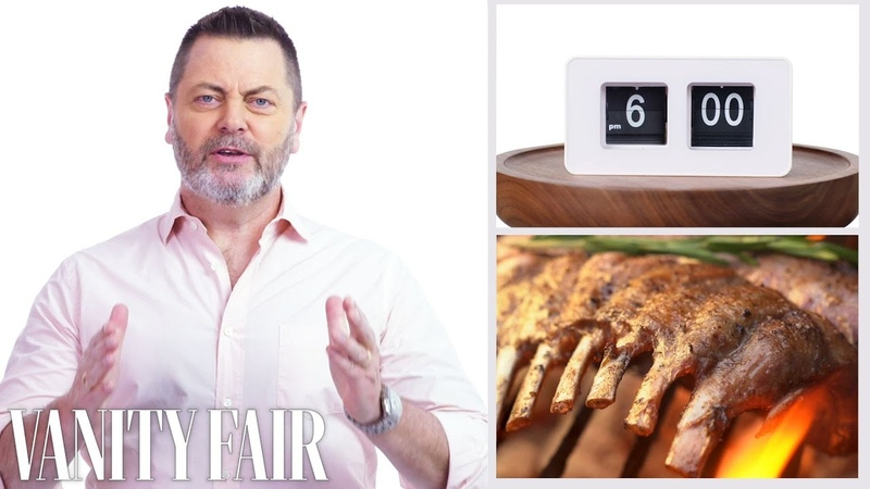 Everything Nick Offerman Does In a Day Vanity Fair