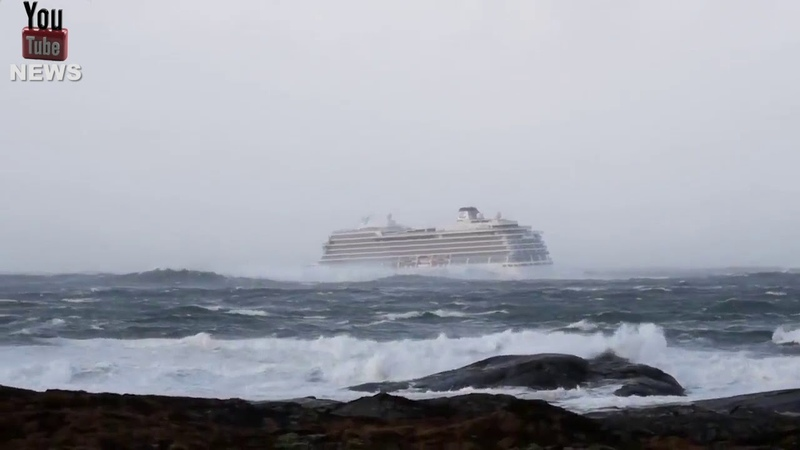 **Rescue Video ** Norway • Cruise ship • MV Viking Sky • Viking Ocean Cruises