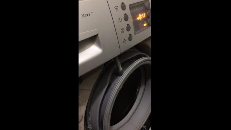 Деформация барабана в стиральной машине Бош Bosch