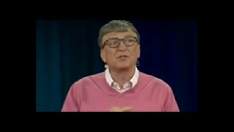 Античеловек Билл Гейтс исполнил приказы антихриста и сатаны Часть 1