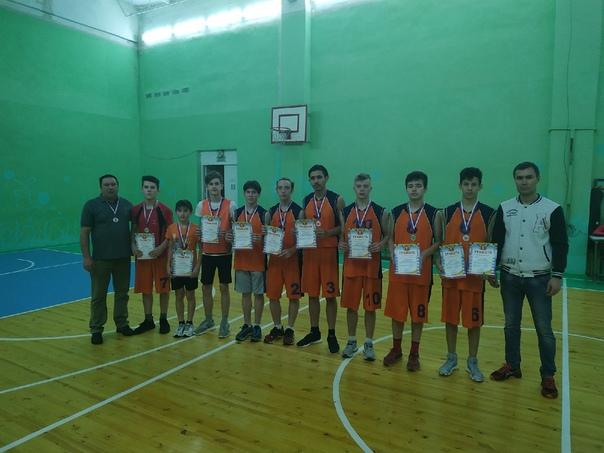 16 ноября прошли районные соревнования по баскетболу среди о