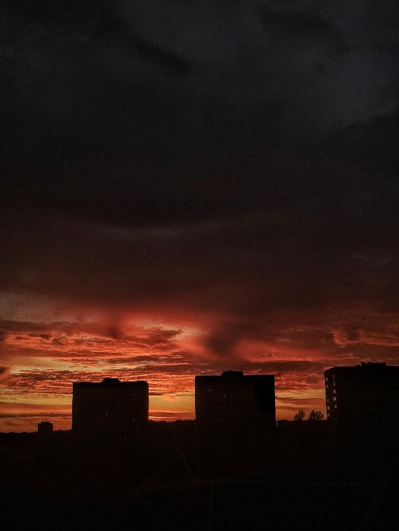 Все видели сегодняшний закат?☝️