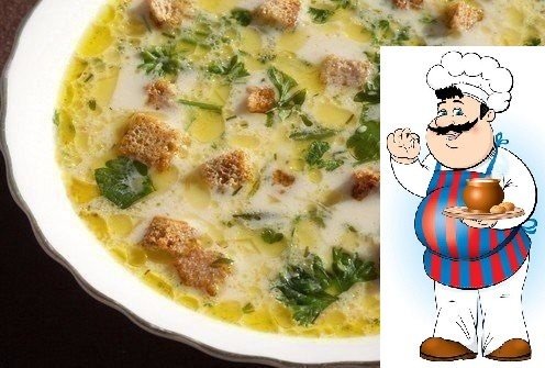 Лёгкий, тёплый, нежный суп в холодные дни