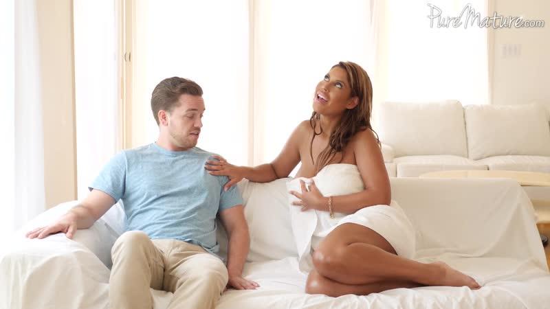 Stepson's Sneak Peek - Bridgette B - Pure Mature August 23, 2019 New Porn
