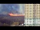 Пал травы на окраине Тулы. Крупный пожар. 23.04.19