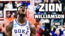 Zion Williamson - The Chosen One ᴴᴰ