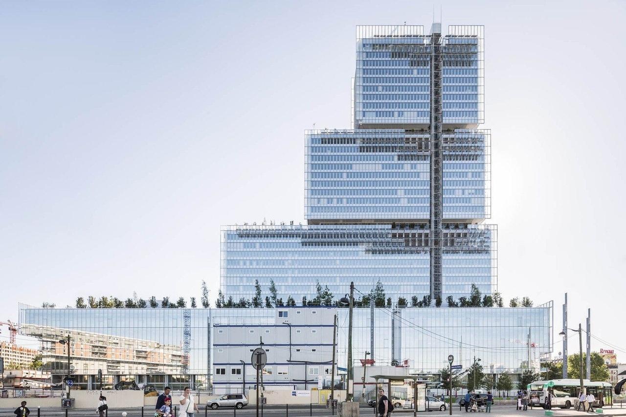 Paris Courthouse / Renzo Piano Building Workshop