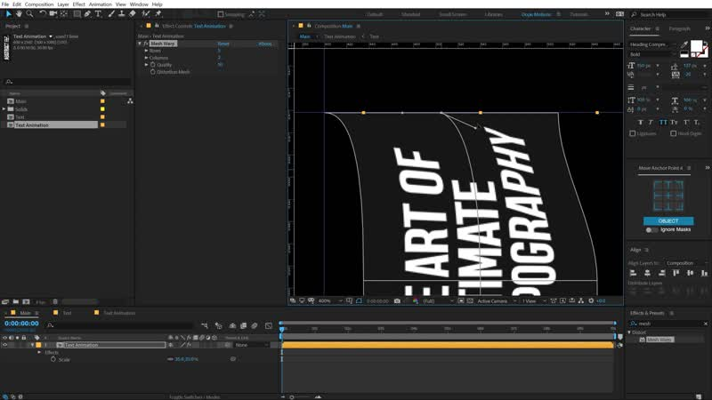 After Effects Tutorial - Creative Typography Animation in After Effects - (Free Project)