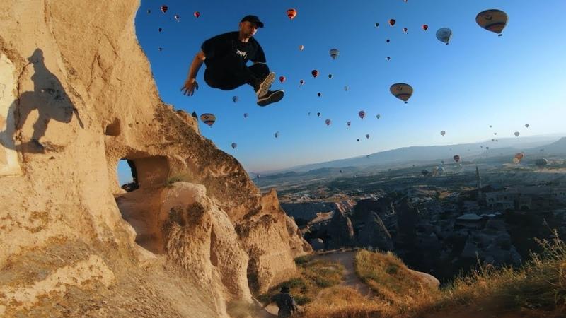 Hot Air Balloon Parkour POV Chase 🇹🇷