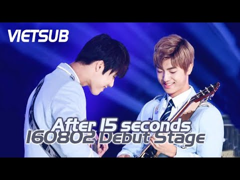 [Vietsub] MAS 0094 - After 15 seconds (160802 Debut Stage)