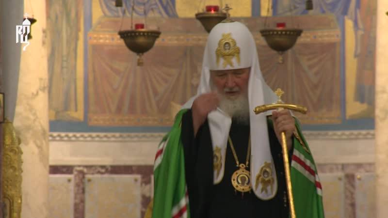 Слово Святейшего Патриарха Кирилла о праведном адмирале Феодоре Ушакове и о сохранении единства