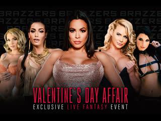 Demi Sutra, Desiree Dulce, Emily Willis, Gabbie Carter, Ivy Lebelle, Luna Star (Brazzers LIVE: Valentine's Day Affair)