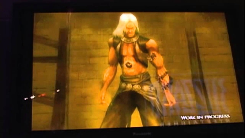 Prince of Persia Kindred Blades Stage Presentation DEMO