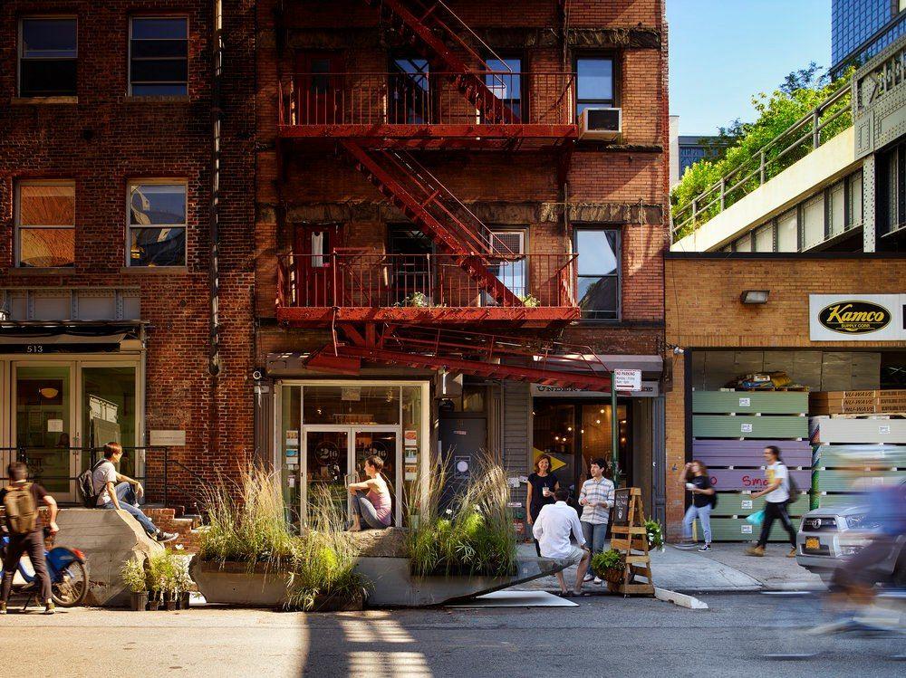 Erratica - кусочек дикой природы посреди Манхэттена: