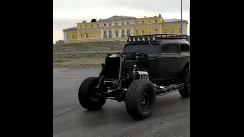 Hyperion. Автомобиль создан по мотивам ГАЗ М-1. trove truckgarage tundravoz gazm1 газм1