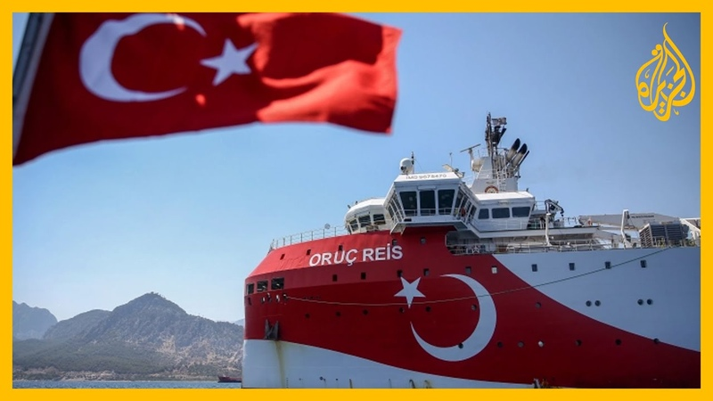 نذر الحرب شرق المتوسط سفينة تنقيب تركية ترافقها قوات بحرية واليونان تتأهب وتدعو لاجتماع أوروبي