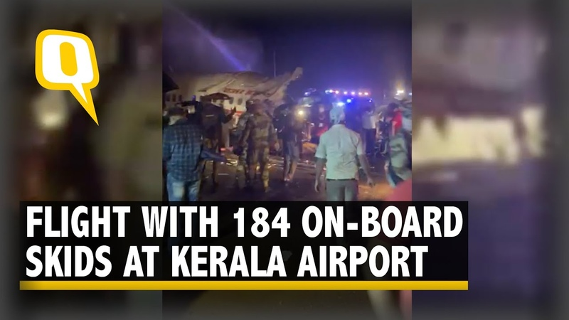 Kerala Plane Crash At Least 14 Dead After Air India Plane With 184 People On Board Skids at Airport
