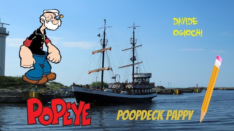 DAVIDE AND DRAWING OF POOPDECK PAPPY