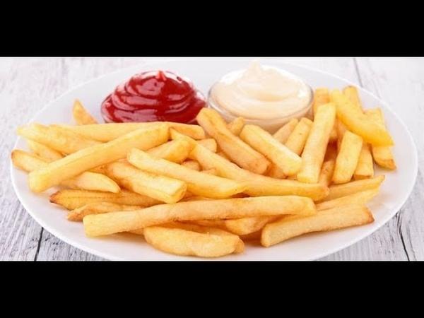 Как приготовить картошку фри дома | Рецепт за 3 минуты | Картошка фри как в KFC