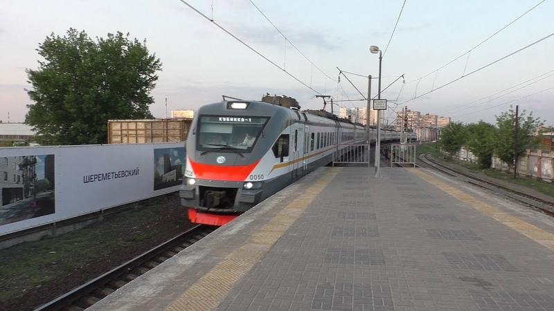 Электропоезд ЭП2Д-0050 ЦППК платформа Станколит