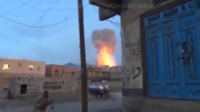 Саудовская Аравия применила тактическое ядерное оружие против Йемена