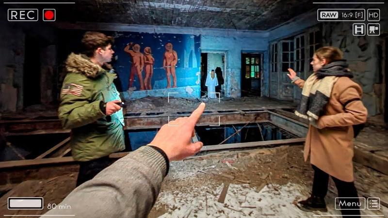 Здесь пропала школьница Снял призрак пропавшей девочки на камеру Привели экстрасенса