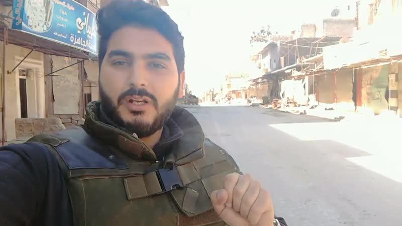 Корреспондент Джафар Юнис в городе КафрНубль