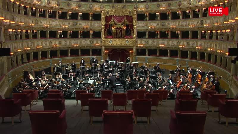 Orchestra del Teatro La Fenice Antonello Manacorda Carmela Remigio Gustav Mahler Sinfonia n 4 Venice 21 02 2021