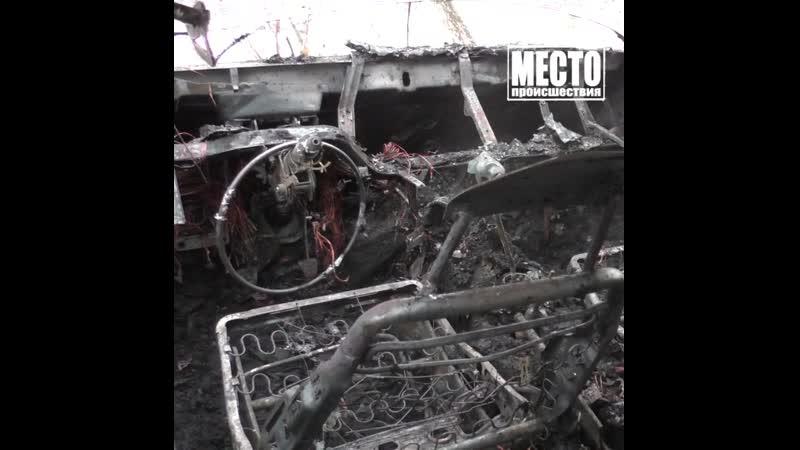 Пока чистила от снега машину, она сгорела