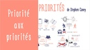 Gestion du temps : Priorité aux Priorités de Stephen Covey