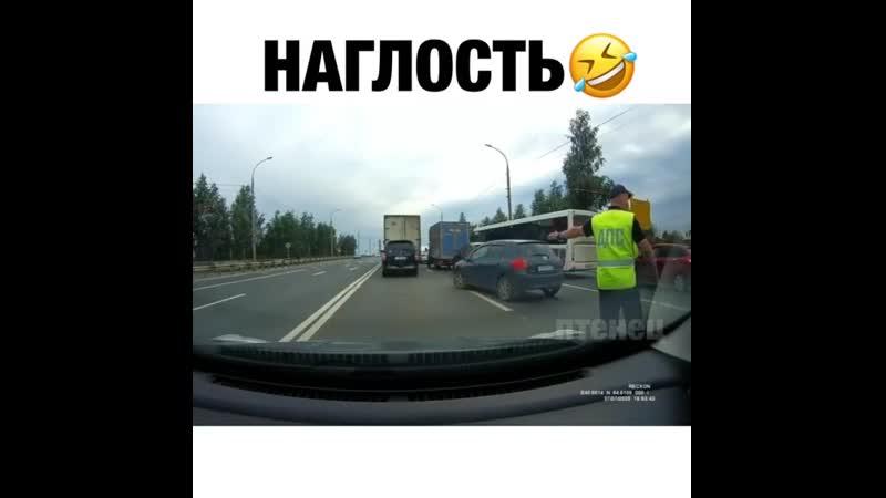 Наглый водитель