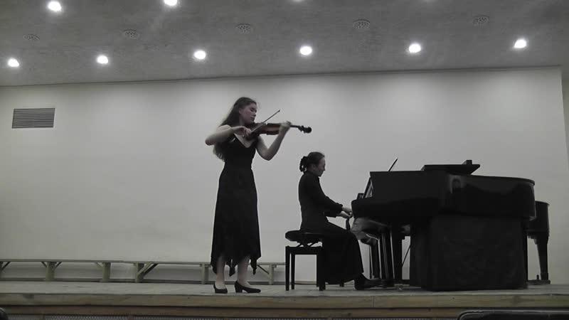 Ф. Мендельсон Концерт ми минор 1ая часть