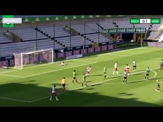 Гол Александра Головина за Монако в товарищеском матче