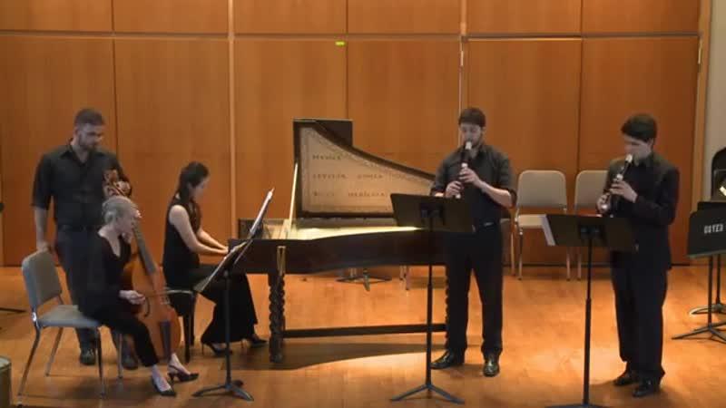 Händel Trio Sonata in F Major for Two Recorders and Basso Continuo online video